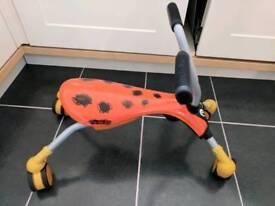 Scramble Bug - Orange & Black - Mookie
