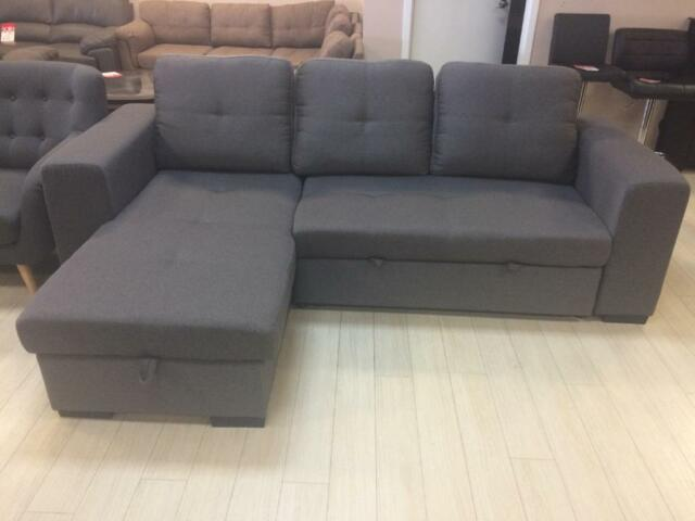 Year end salebrand new sectional sofa bed with storage for Buy sectional sofa vancouver