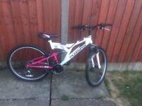 Ladies muddyfox bike