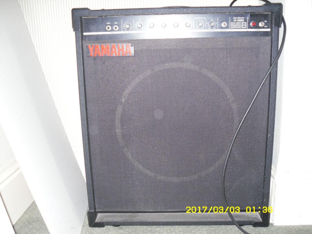 Bass guitar amplifier yamaha vx series 55b make an offer for Yamaha bass guitar amplifier