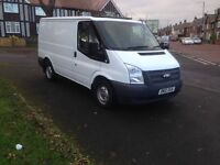 2012 Ford transit Swb Euro 5 100ps 6 speed 79'000 miles full service history NO VAT