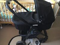 Graco evo travel system, excellent condition