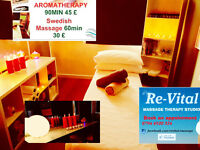 """*** OPEN NOW*** """"Re-Vital""""- Massage Therapy Studio, 20min from Glasgow-Try it Today"""