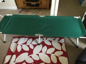 Camp bed. Perfect condition. Used once