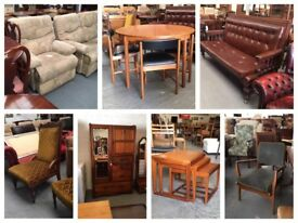 ** FURNITURE - TABLES, CHAIRS, WARDROBES, DRAWERS, DRESSING TABLES, CABINETS ETC.. **