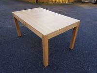 New Oak Dining Table by Bently Designs FREE DELIVERY 472