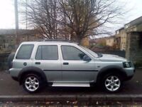Land Rover Freelander 2.0 2005 (55)**Sep 2018 MOT**Diesel**4x4**Only £2195