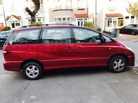 Toyota Previa 2.0 GLS 8 Seat for sale for £1000...needs new turbo