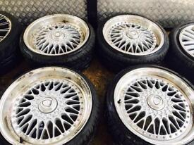 "18"" CALIBRE ALLOY WHEELS ASTRA VECTRA ZAFIRA SAAB SET OF 4"