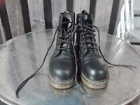 Doc Martin work boots size 8