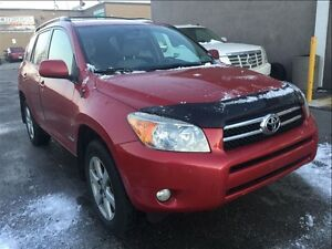 2008 Toyota RAV4 Limited WITH LEATHER & SUNROOF
