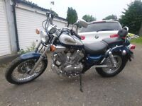 Yamaha Virago XV535 1998, very low miles in excellent condition