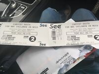 Carfest South Friday Tickets 1 adult 1 child