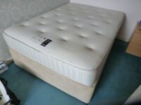 i x double bed with two drawers in base
