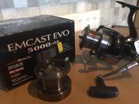 Daiwa Emcast Evo Airbail 5000 reel brand new