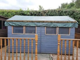 12x6 tongue and groove garden shed