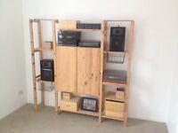 IKEA storage shelf unit
