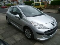 PEUGEOT 207 HDi 1.4L WITH A FULL MOT, FULL SERVICE HISTORY, VERY TIDY & ONLY £30 A YEAR TAX