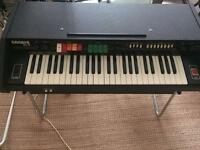 Encore 49 analogue piano with drums and accompanient.