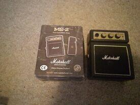Marshall mini amps