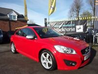 VOLVO C30 1.6 D DRIVe R-Design 2dr (red) 2010
