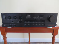 Technics SU-V65A integrated amplifier for SPARES or REPAIR
