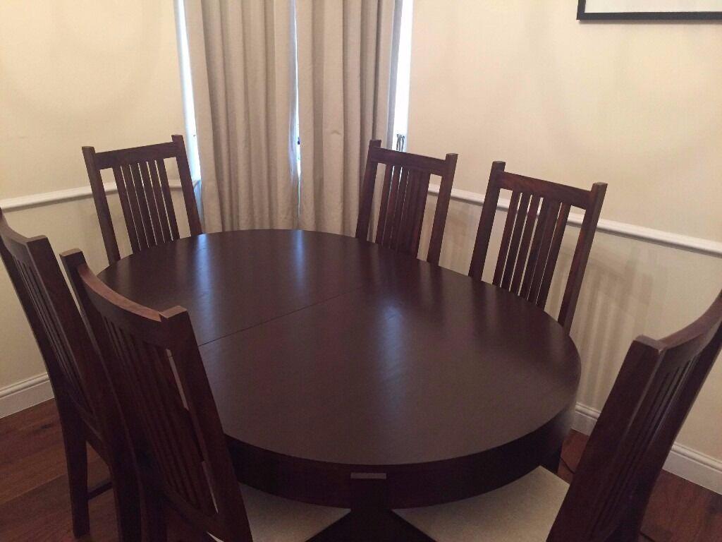 john lewis garbo dining table u0026 maharani dining chairs in