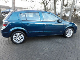Vauxhall astra low miles fsh 3 months warranty 3 months AA break down cover