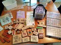 Massive collection of craft stamps