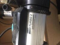 Shower force turbo 2 shower pump