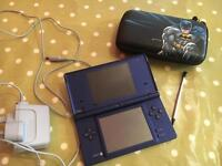 Nintendo DSi with charger and batman case