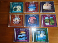 8 CLASSICAL MUSIC CDs with OCEAN SOUNDS, SOME NEVER PLAYED, OTHERS ONLY ONCE