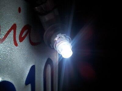 New 2 X White Led T8 194 2825 168 158 1 Smd Wedge License Plate Light Bulbs
