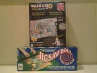 """""""HOME IMPROVEMENTS"""" JIGSAW PUZZLE AND JIGSAW ROLL .. BOTH NEW+UNUSED"""