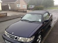Saab 93 convertable. Spares or Repair