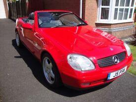 1999 Classic Mercedes SLK230 Kompressor R170