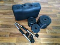 15kg Dumbbell Set with Carry Case