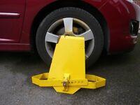 Universal Wheel Clamp suitable for Caravan or Campervan