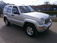 2003 JEEP CHEROKEE 2.5 CRD LIMITED STATION WAGON, DIESEL LOW MILES, VERY CLEAN CAR, DRIVES VERY NICE