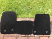 Ford Transit connect velour floor mats / genuine Ford accessories