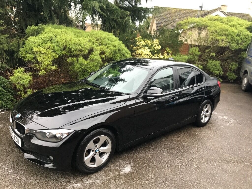 bmw 3 series 320d 2012 2 0 recent service black 58 000. Black Bedroom Furniture Sets. Home Design Ideas