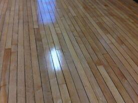 Used hardwood flooring wanted.