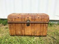Vintage Antique Steamer Trunk