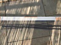 Half a box (12 strips) of brand new Karndean Charcoal Design Strips flooring for between tiles