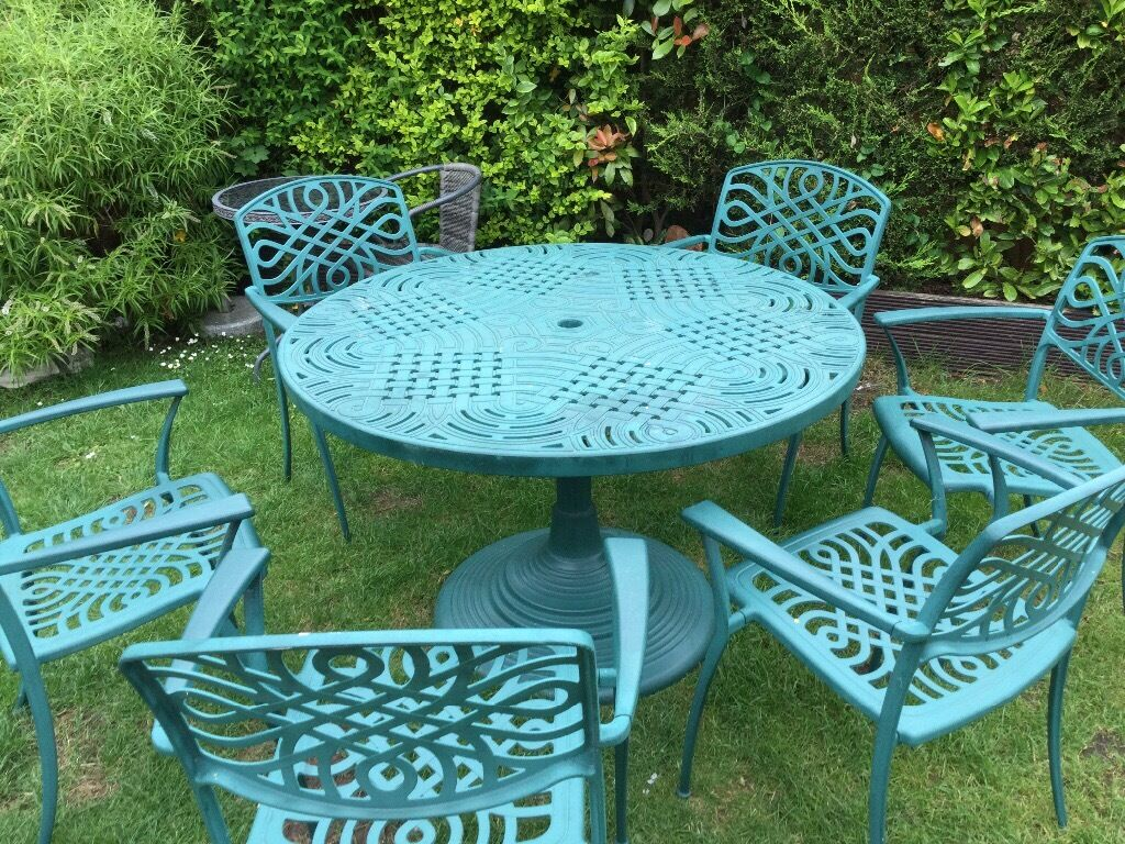 Garden table and chairsin Kings Lynn, NorfolkGumtree - Family garden table and chairs chairs used £180 no offers if gone today bargain