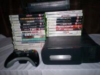 XBox360 plus games