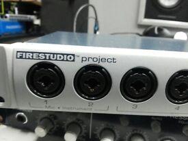 PRESONUS FIRESTUDIO PROJECT INTERFACE