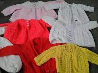 Baby cardigans and outdoor suit new born
