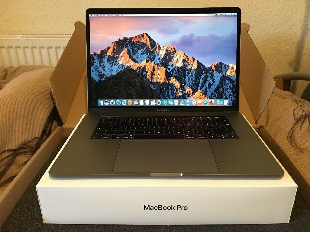 "Mac Book Pro 15 4"" 2016 with Touch Bar - Top spec - Apple refurbished -  Comes with Accessories 