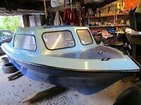 15ft fibreglass boat